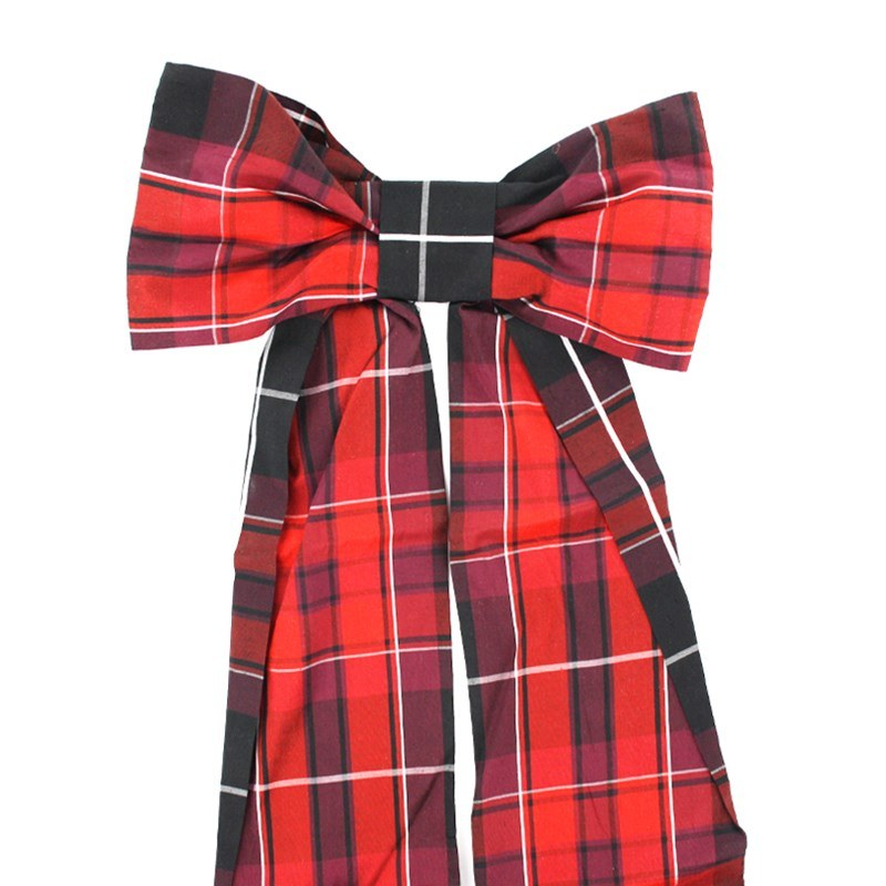 Pride of Scotland Silk Tartan Bow in Pride Of Wales