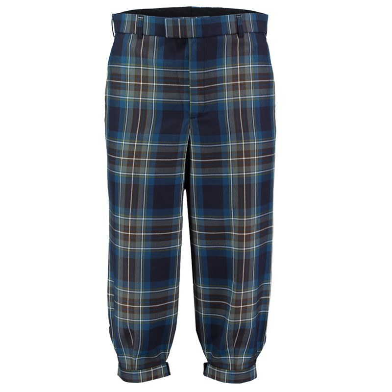 Machine Washable Plaid Golf Knickers in Holyrood PolyViscose BA008T
