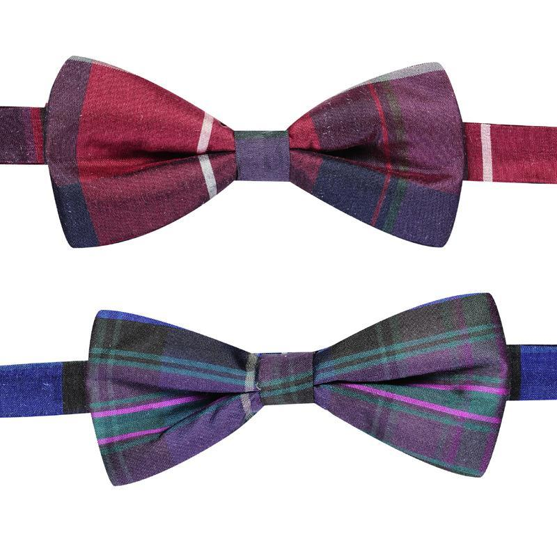 Pride of Scotland Silk Tartan Bow Tie