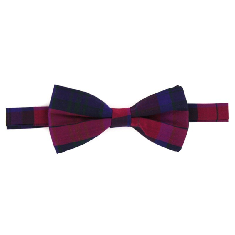 Pride of Scotland Silk Tartan Bow Tie in Pride of Scotland Autumn