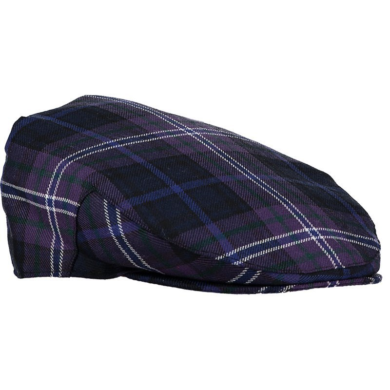 Child's Plaid Flat Cap