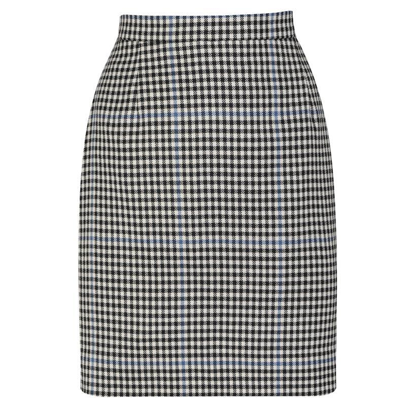 Plaid Pencil Skirt (any length) in Buccleuch Modern