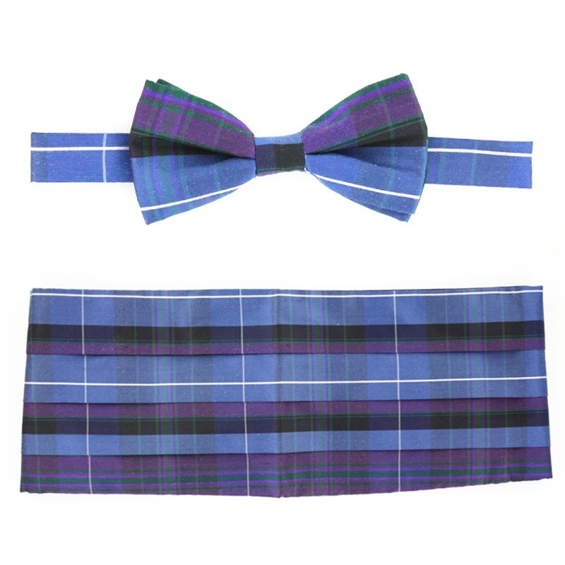 Set Noeud et Cummerbund Pride of Scotland