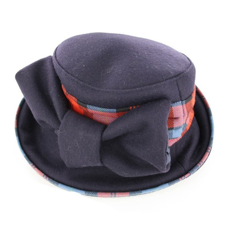 Amelia Tartan Hat in MacLachlan Ancient