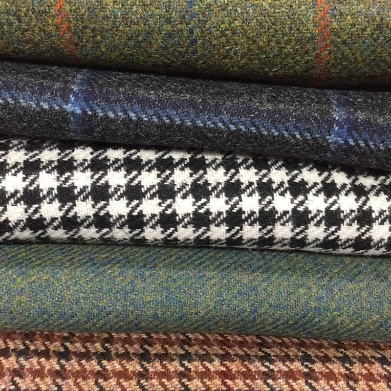 Tissus tweed écossais traditionnels Made To Order