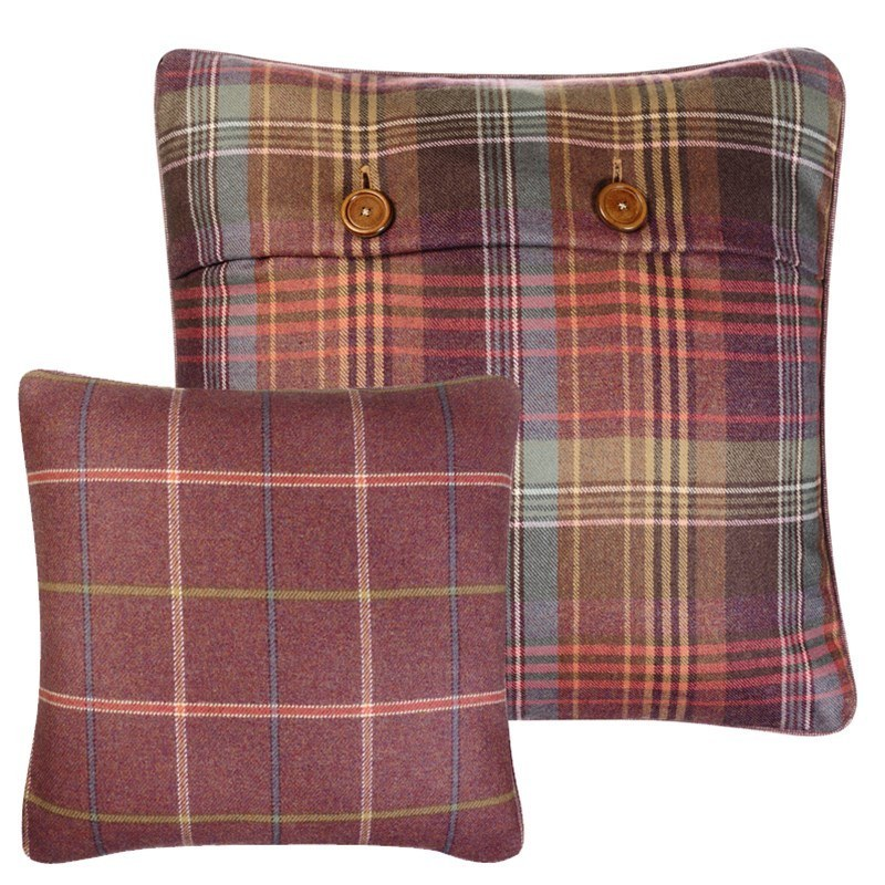 Scottish Heritage Tweed Cushion Cover