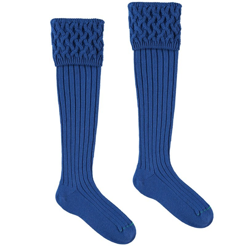 Chaussettes de luxe in Mid Blue