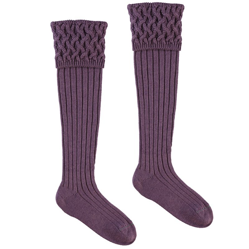 Chaussettes de luxe in Thistle