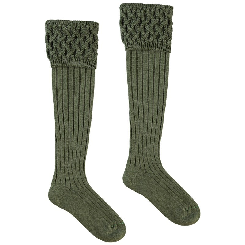 Chaussettes de luxe in Spruce