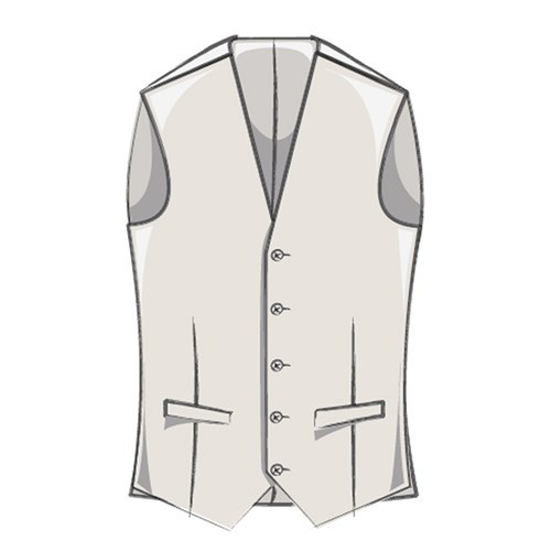 Men's Tweed Vest