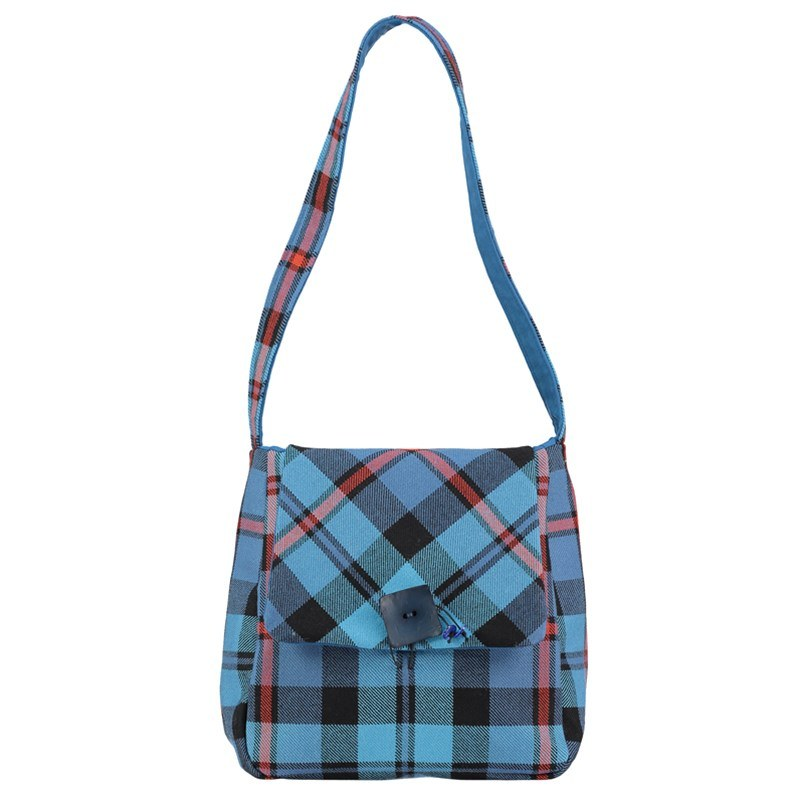 Plaid Shoulder Bag in MacCorquodale Ancient