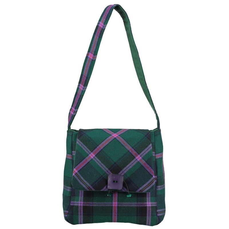 Plaid Shoulder Bag in Cooper Modern