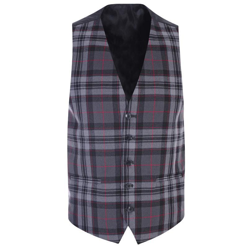 Men's Pride of Scotland Wool Plaid Vest Made To Order