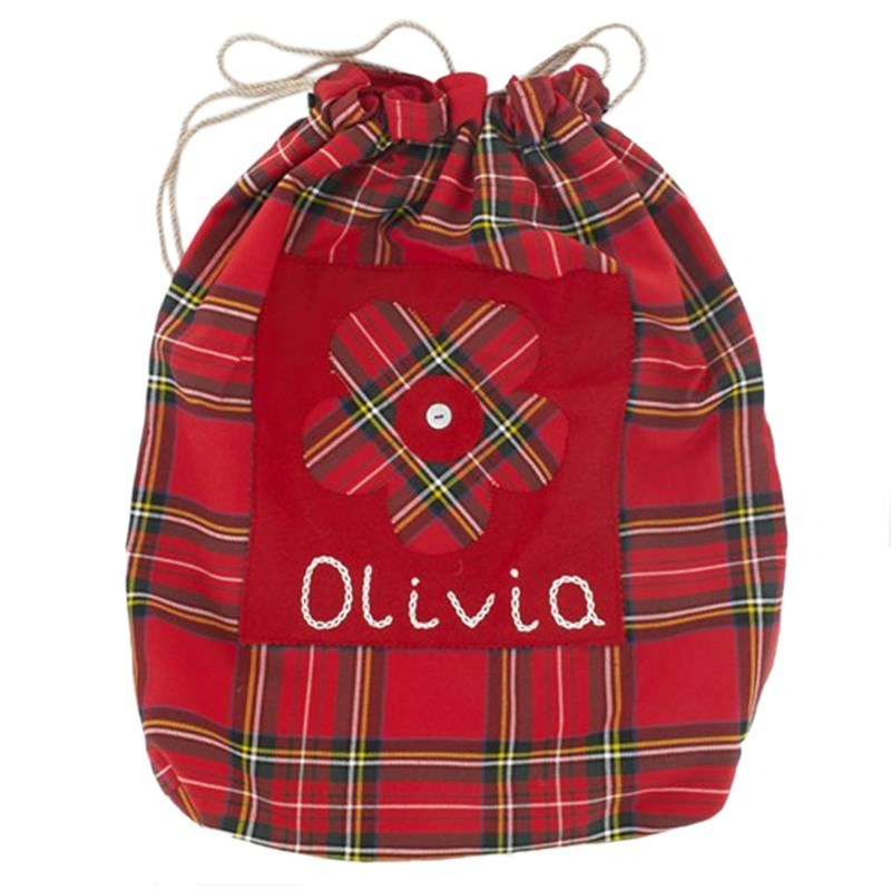 Stewart Royal Childrens Drawstring Tartan Bag 1
