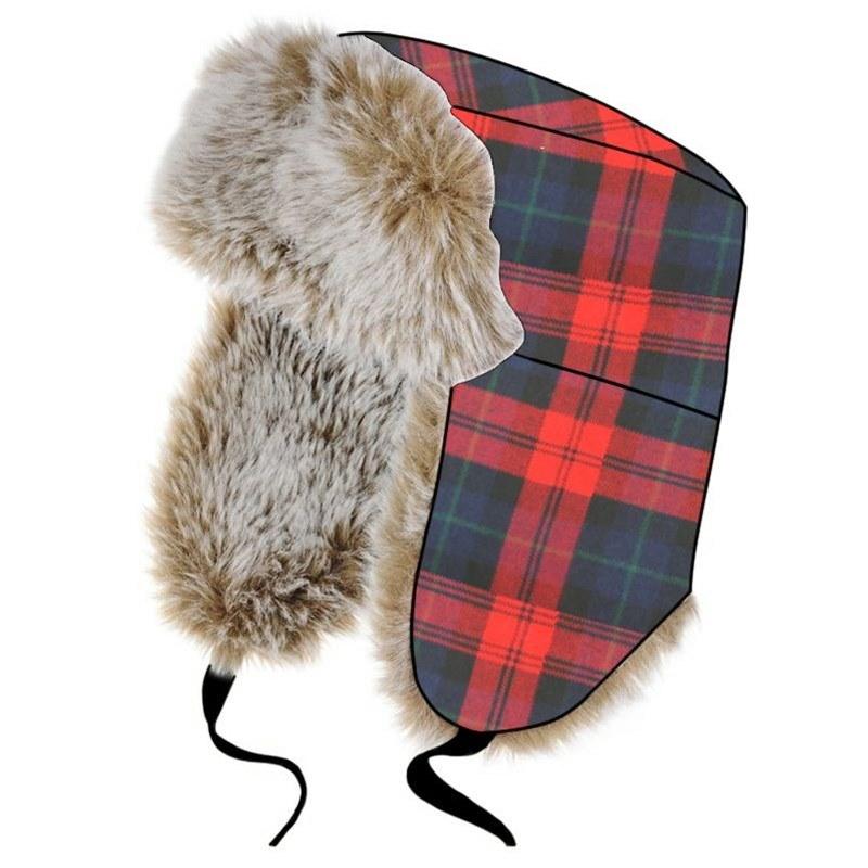Tartan Trapper Hat in Maclachlan Modern