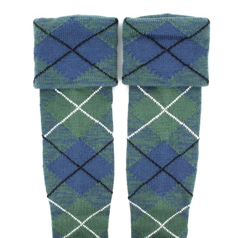 Tartan Kilt Socken (Angebot) in Douglas Ancient