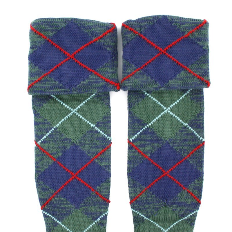 Calcetines Escoces en Tartan (Venta) in Stewart of Appin Hunting Ancient