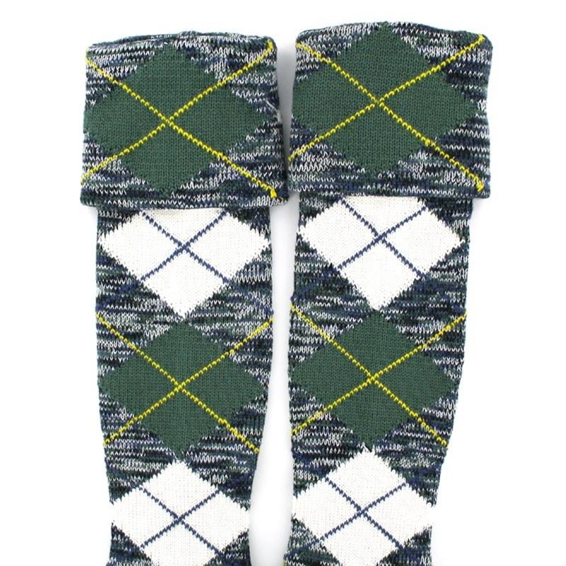 Tartan Kilt Socks/Hose (Sale) in Gordon Dress Ancient
