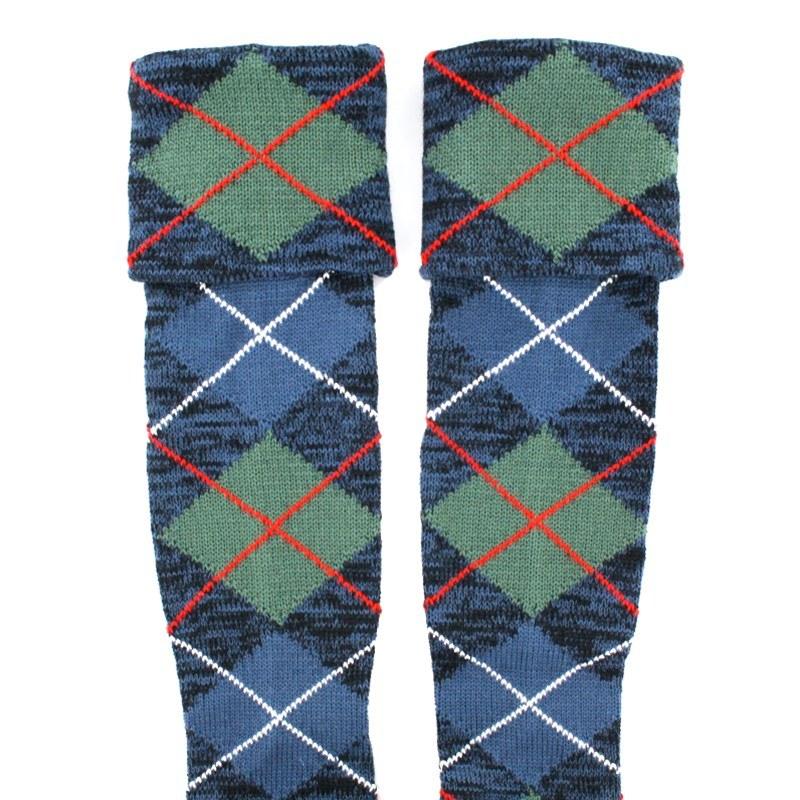 Tartan Kilt Socken (Angebot) in Robertson Hunting Ancient