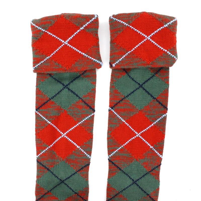 Tartan Kilt Socken (Angebot) in Grant Ancient