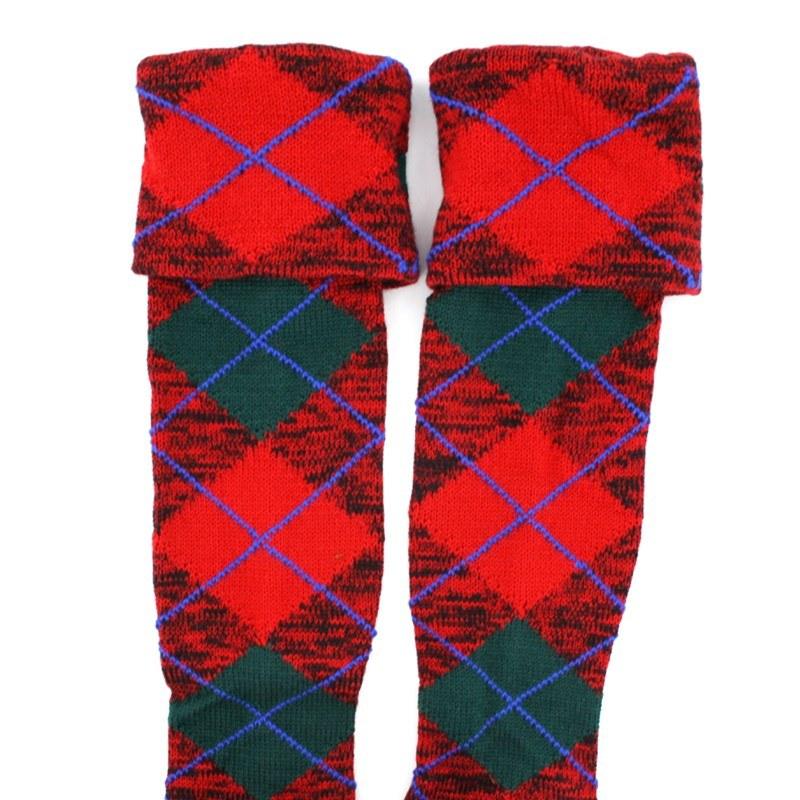 Tartan Kilt Socks/Hose (Sale) in MacNaughton Modern