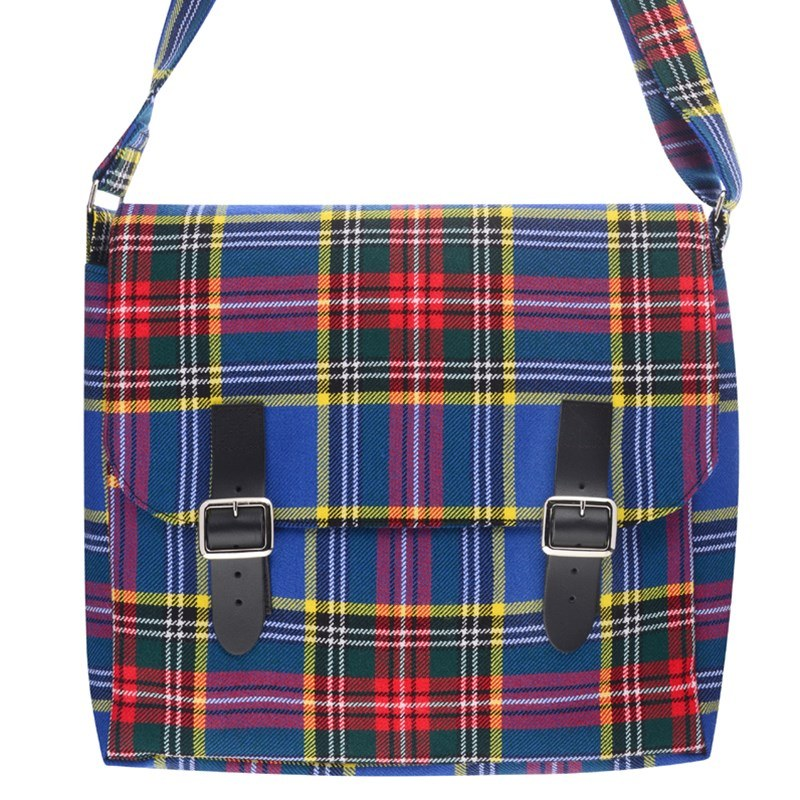 Tartan Messenger Bag in MacBeth Modern