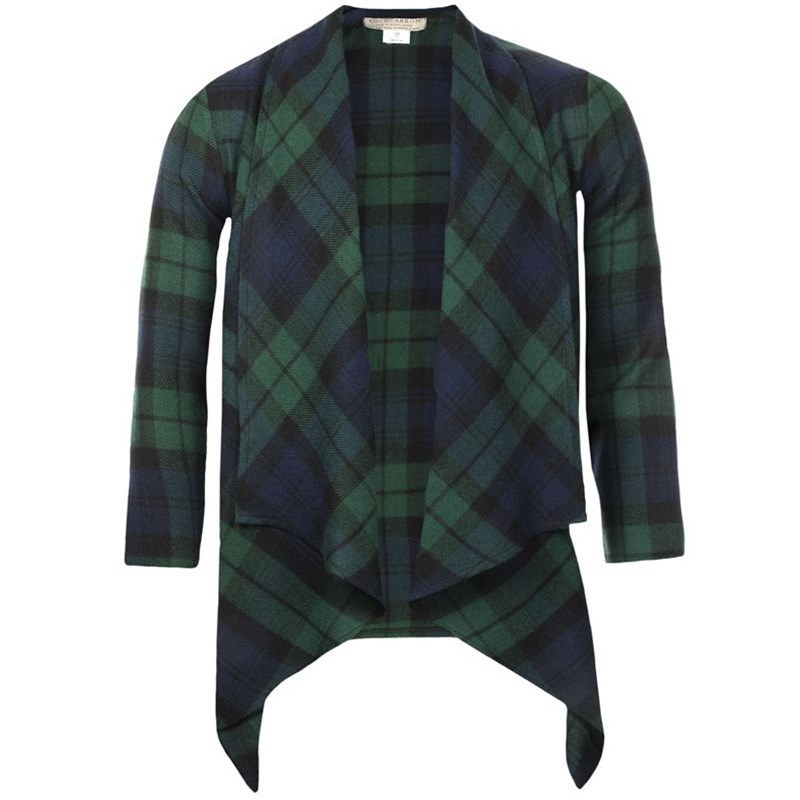 Plaid Kerry Jacket in Black Watch Modern