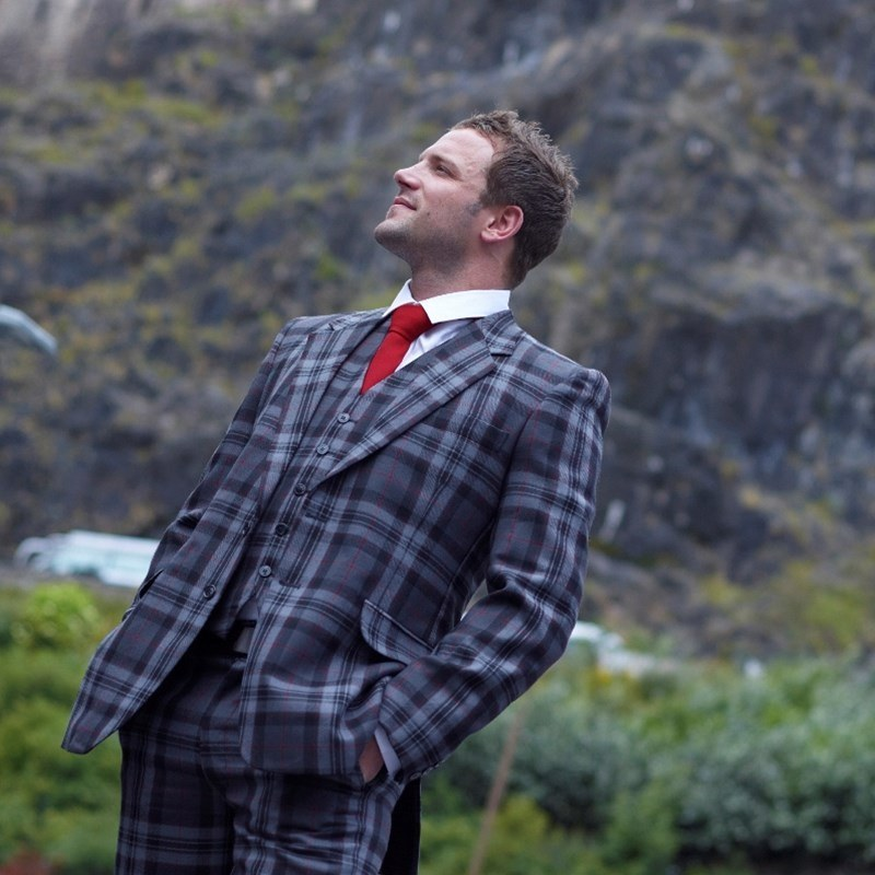 Men's Pride of Scotland Tartan Jacket