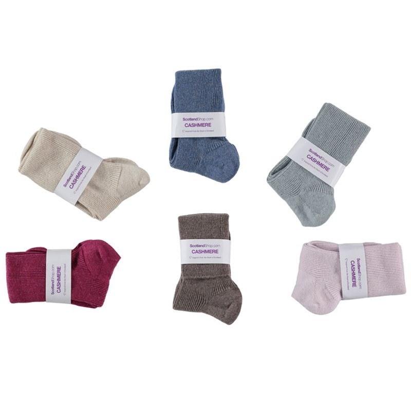 Socken für Damen 85% Cashmere/ 15% Nylon