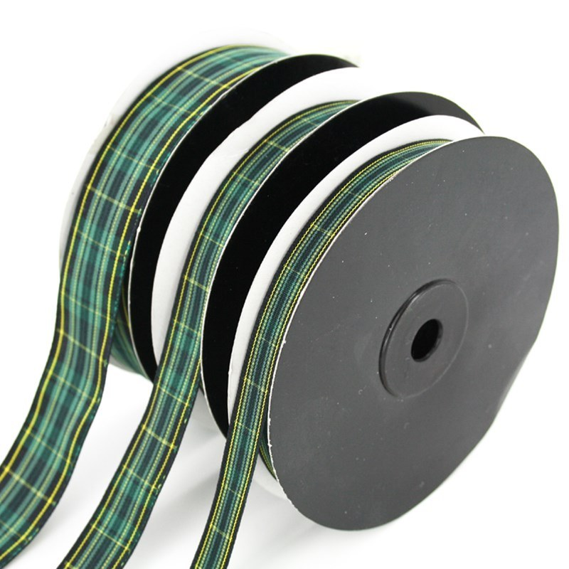 Pride of Scotland Tartan Ribbon (Sale Pack) in Pride of Ireland