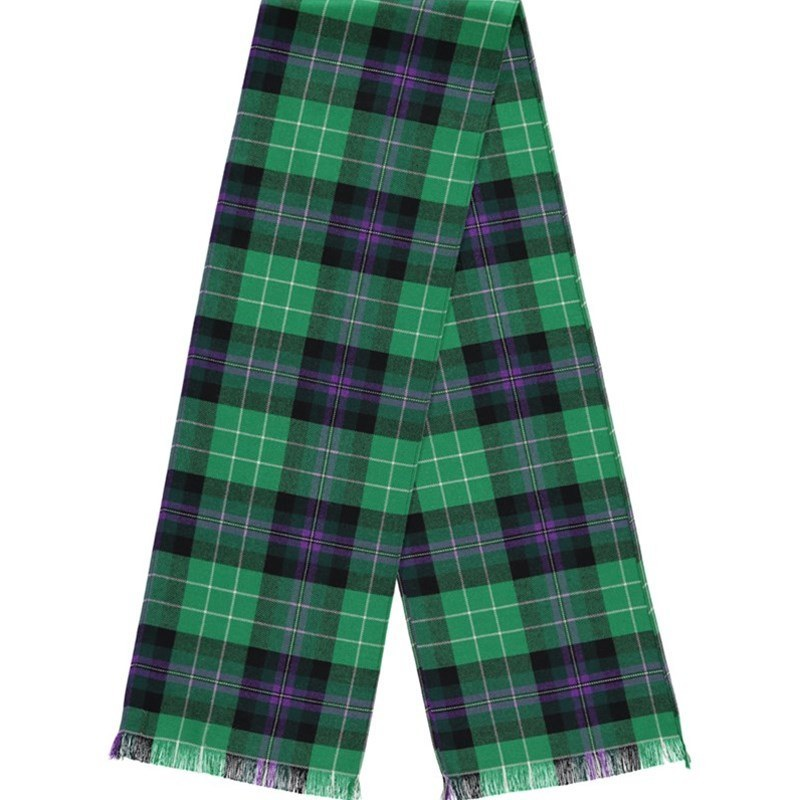 Hibernian Football Club Tartan Scarf in Hibernian Football Club