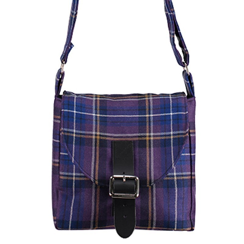 Tartan Across-the-Body Bag in Holyrood Diamond Jubilee