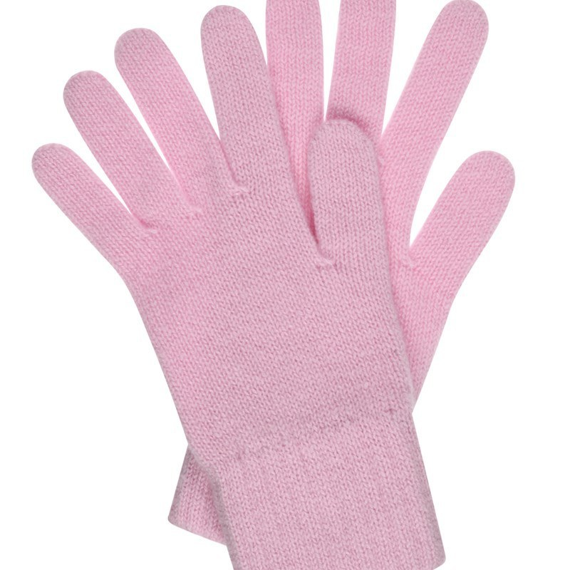 Women's Everyday Cashmere Gloves in Soft Pink