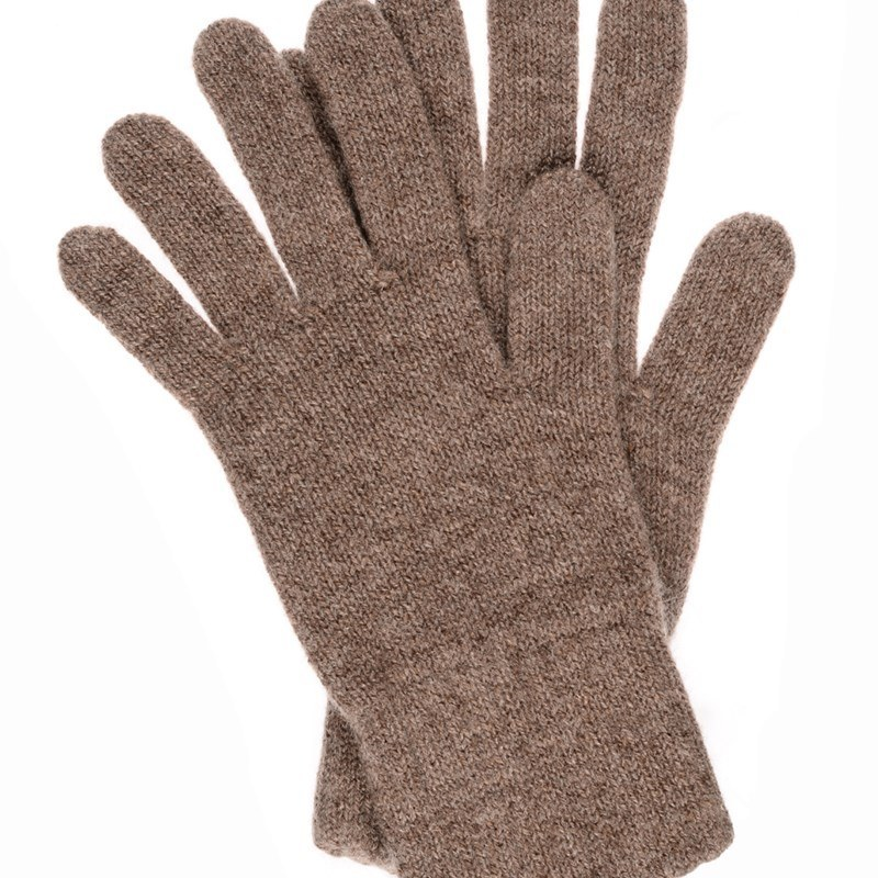 Women's Everyday Cashmere Gloves in Otter Brown