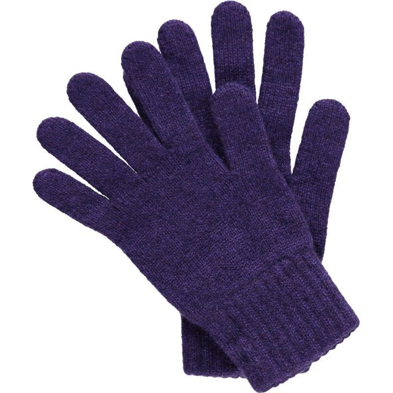 Women's Everyday Cashmere Gloves in Purple