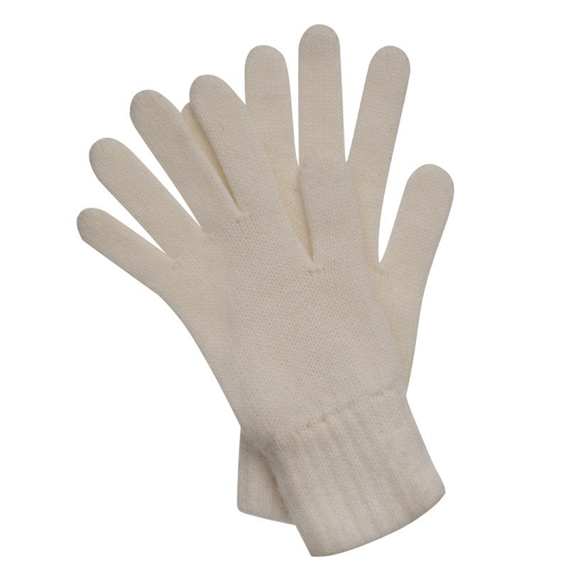Women's Everyday Cashmere Gloves in White