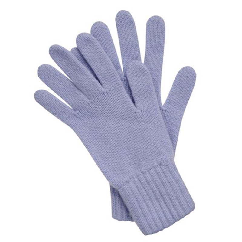 Women's Everyday Cashmere Gloves in Sky Blue