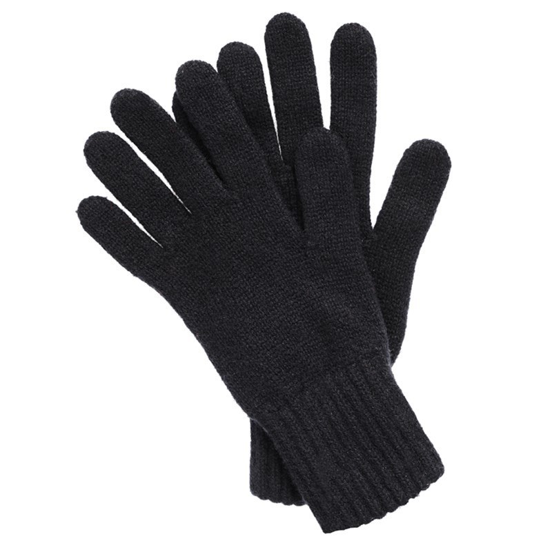 Women's Everyday Cashmere Gloves in Black