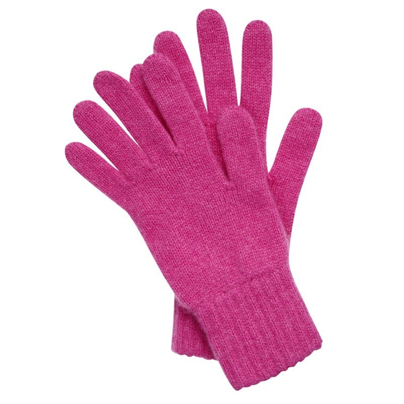 Women's Everyday Cashmere Gloves in Infra Pink