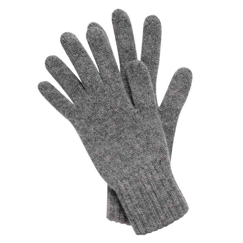 Women's Everyday Cashmere Gloves in Flannel Grey