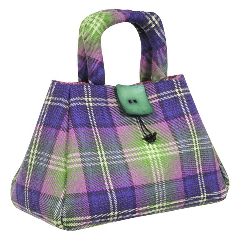 Bag pictured in the Troon tartan