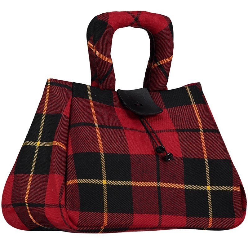 The Muckle Fantoosh Tartan Handbag in Wallace Modern