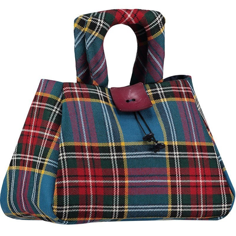The Muckle Fantoosh Plaid Purse in MacBeth Modern