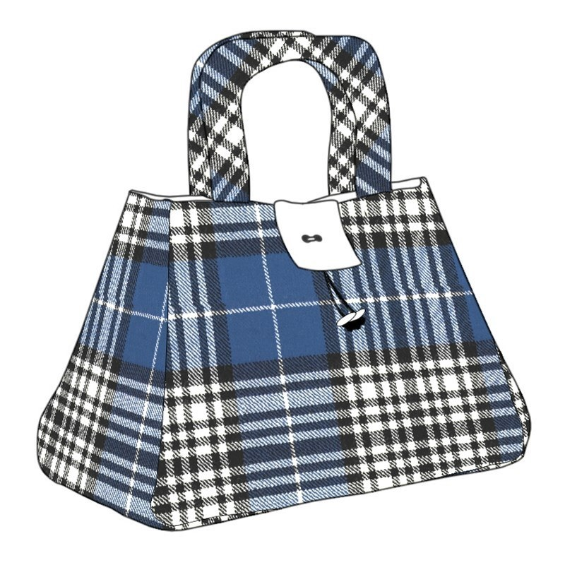 The Muckle Fantoosh Plaid Purse in Napier Modern