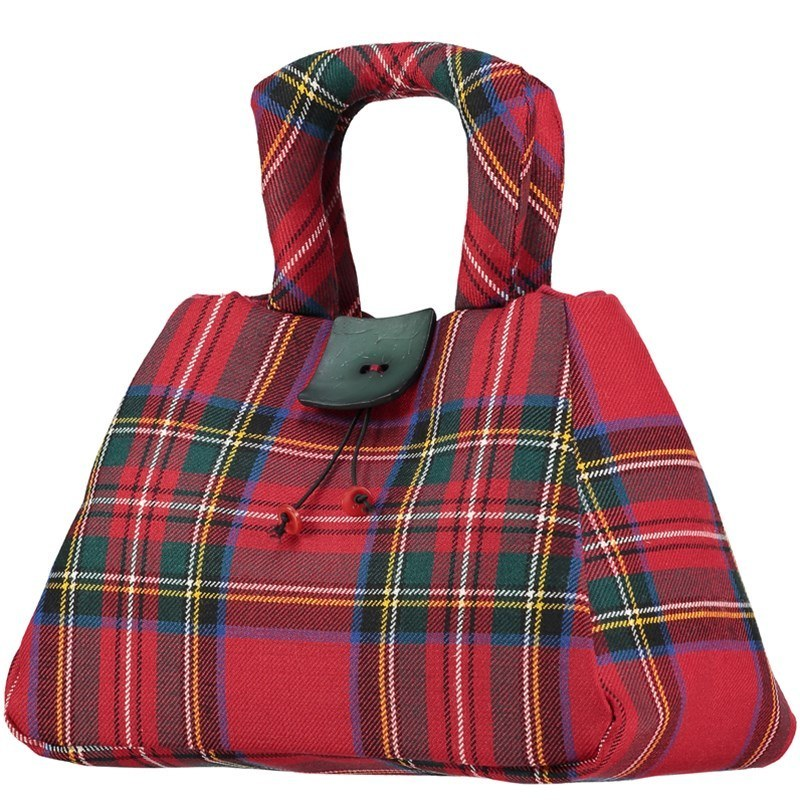 The Muckle Fantoosh Plaid Purse in Stewart Royal