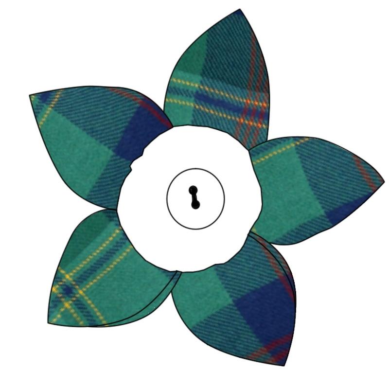 Broche fleur ecossais in Gretna Green