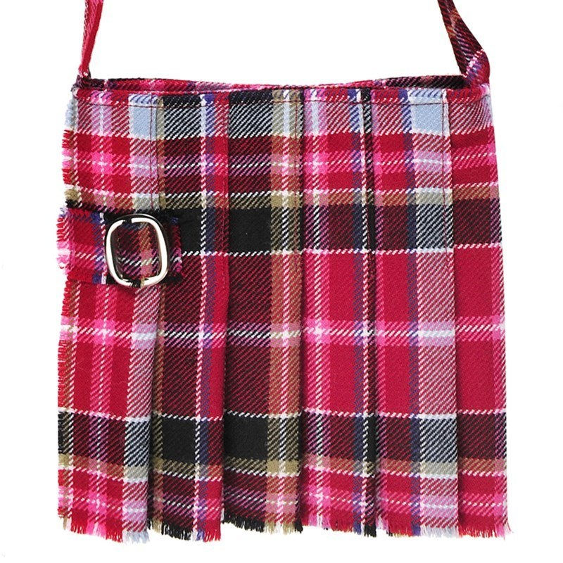 Small Plaid Kilt Bag in Aberdeen