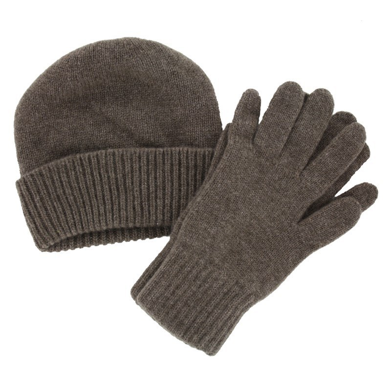 f0aaa2d9b13 Men s Cashmere Hat and Gloves Set