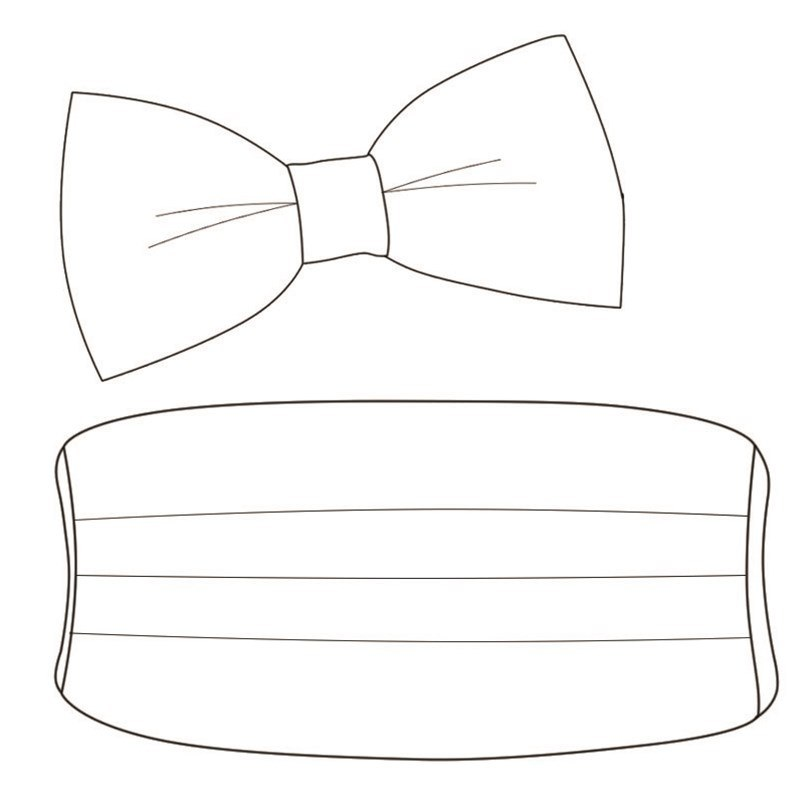 Wool Tartan Bow Tie & Cummerbund Set Made To Order