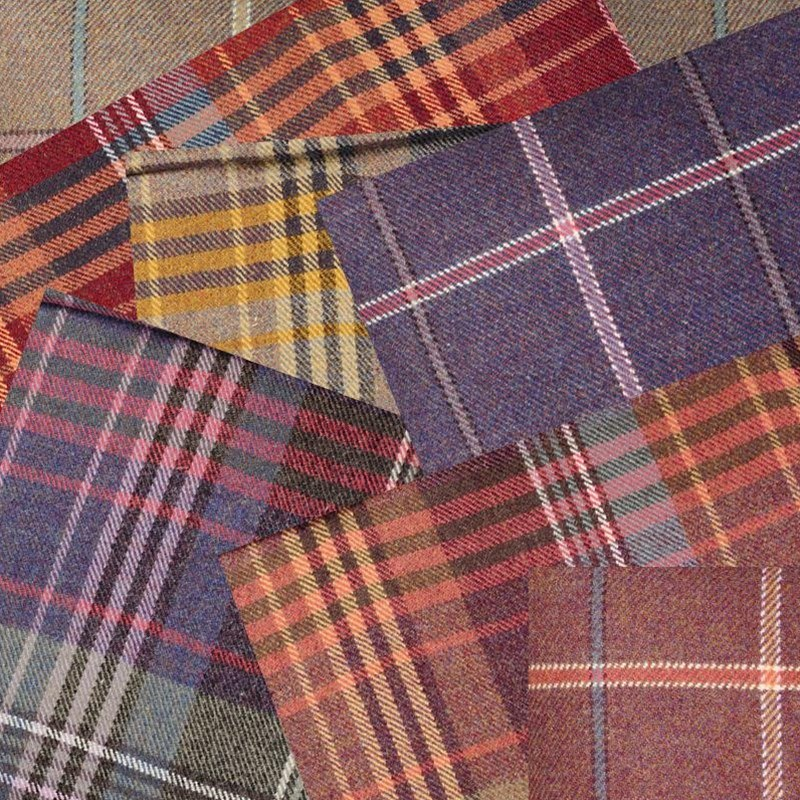Scottish Heritage Tweed Fabric Collection